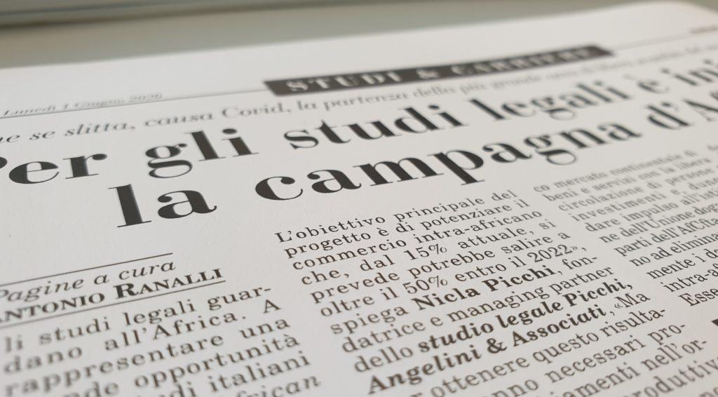 Per gli studi legali è iniziata la campagna d'Africa